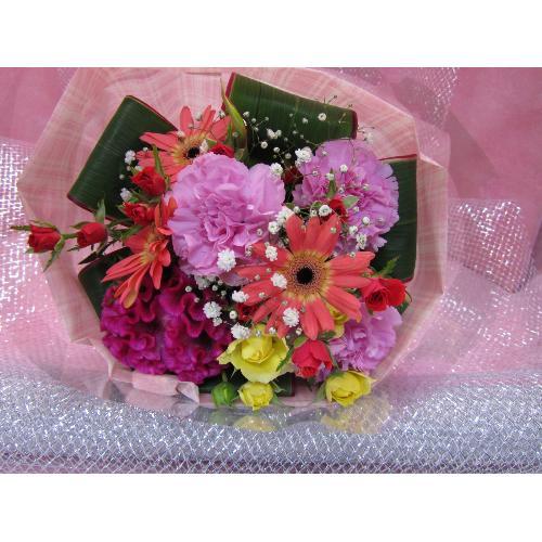 コンパクト彩り花束