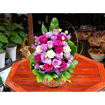 <フジテレビフラワーネット> 開店・開業・移転祝い「紫幹翠葉〜しかんすいよう〜」画像