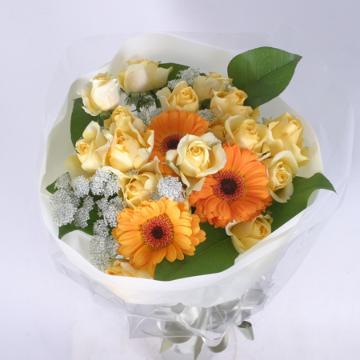 ビタミンカラーの花束(B-107)