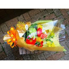 yellow orange bouquet