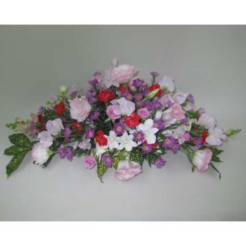 <フジテレビフラワーネット> お祝いのテーブル用の盛花画像
