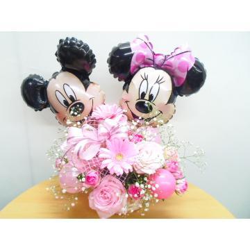 ☆ディズニーシリーズ☆ミッキー&ミニー ピンク