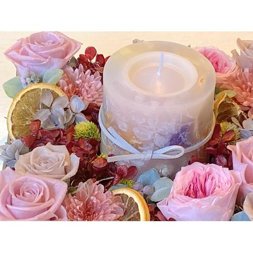 バラのキャンドルBOX「Rose Garden meets Botanical Candle」4