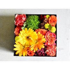 BOX17アレンジ(イエローオレンジ)