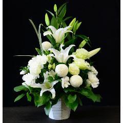 【お供え花】 −HOSHI− 白